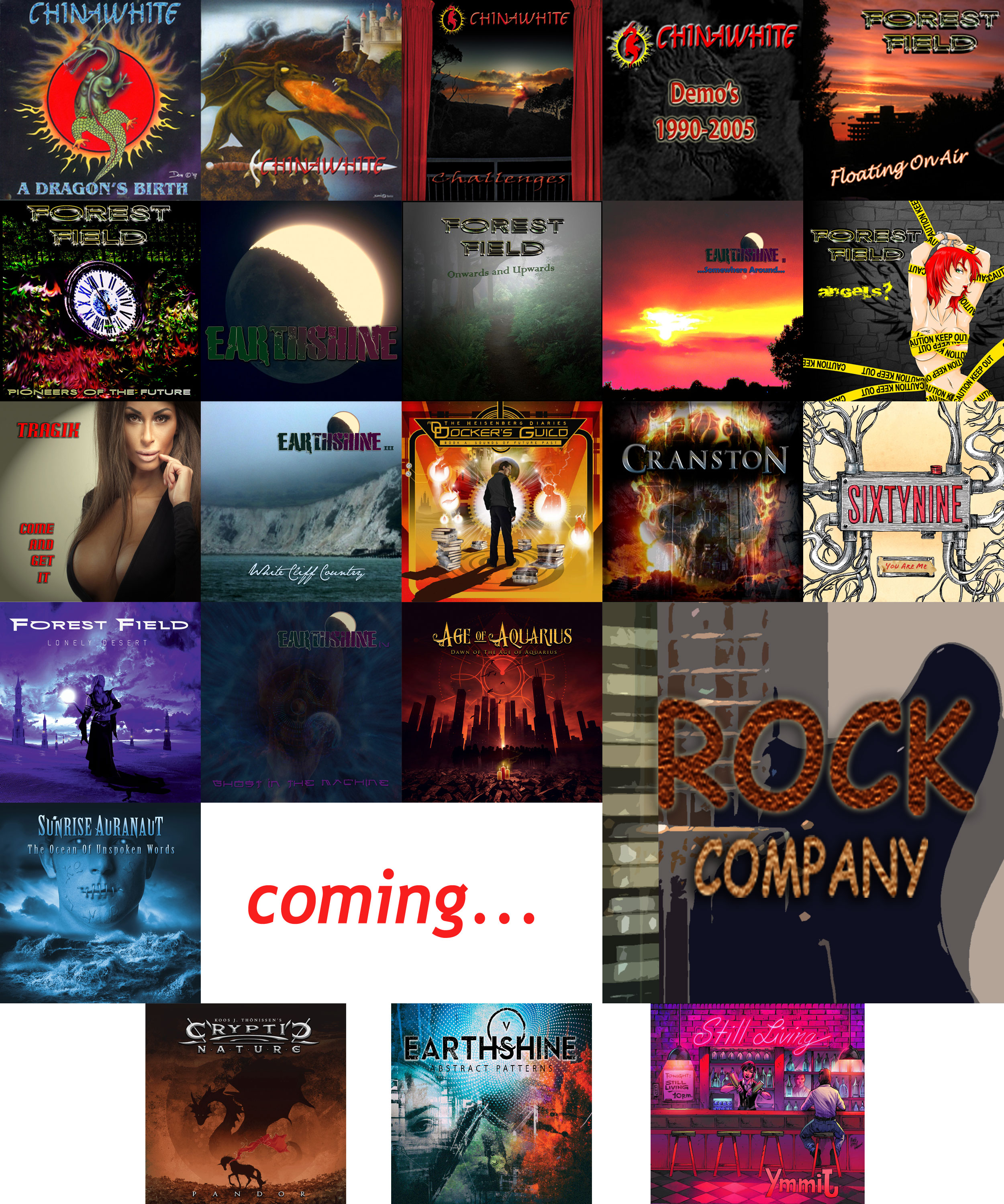 rock company releases